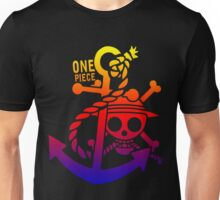 One Piece Rainbow Unisex T-Shirt