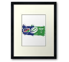 Namibia Rugby World Cup Framed Print