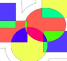 Color Blocks Sticker
