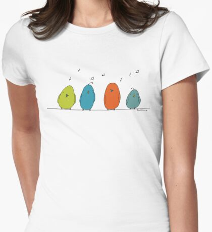 Quartet Womens Fitted T-Shirt