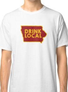 Iowa Drink Local Beer Cyclone Colors Classic T-Shirt