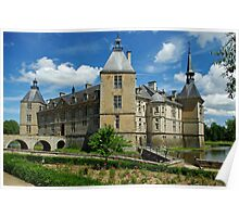 Chateau Sully, Burgundy, France Poster