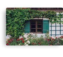 The Charming Garden Canvas Print