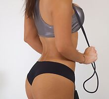 Fit Woman - Jump Rope by TheFotogArtist