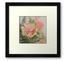 Pretty in Pastel Framed Print