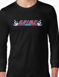 Anime Sucks - Bleach Version Long Sleeve T-Shirt