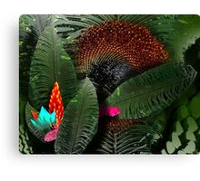 Sunflower Jungle Canvas Print