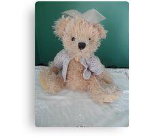 Abbys little teddy ` Canvas Print