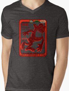 usa california tshirt by rogers bros Mens V-Neck T-Shirt
