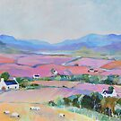 In the Pink Fields by Peter Lusby Taylor