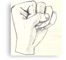 Fist Canvas Print