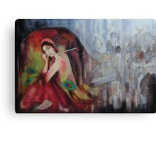 Twilight Drizzles  Canvas Print