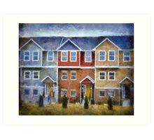 Town House Art Print