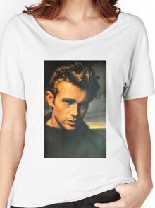 JAMES DEAN THE LEGEND Women's Relaxed Fit T-Shirt