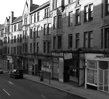 Glasgow streetscape 1 by Ian Kemp