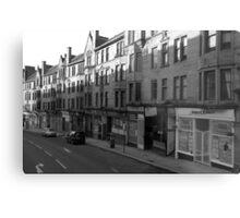Glasgow streetscape 1 Metal Print