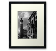 Glasgow streetscape 2 Framed Print