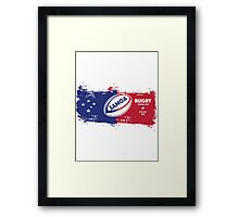 Samoa Rugby World Cup Framed Print