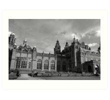 Glasgow streetscape 3 Art Print