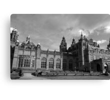 Glasgow streetscape 3 Canvas Print