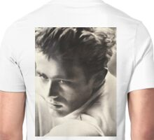 JAMES DEAN BLACK AND WHITE Unisex T-Shirt