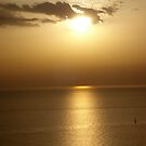 Wonderful Sunset in Santorini by jimkoul