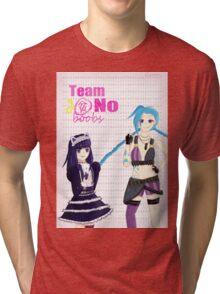 Team No Boobs Tri-blend T-Shirt