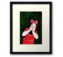 Minnie mood Framed Print