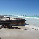 Eucla Old Jetty 2 by Colin Dixon