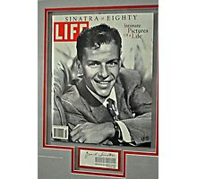FRANK SINATRA LIFE COVER  Photographic Print