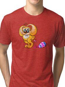 Painful Easter Bunny Job! Tri-blend T-Shirt