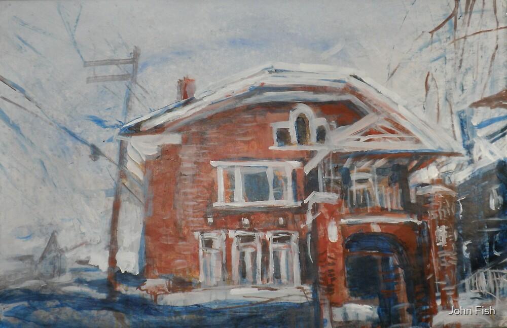 Gladstone Street by John Fish