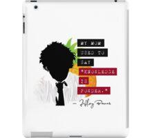 "Jeffrey Barnes—""Knowledge is Powder"" (Chuck TV Show) iPad Case/Skin"