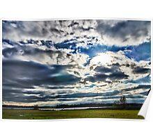 Lake Crabtree Big Sky Poster