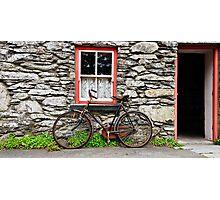 Rural Irish Countryside Village, Cottage, Photography. Photographic Print