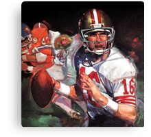 JOE MONTANA SAN FRANCISCO #16 Canvas Print