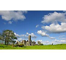 Quin Abbey, County Clare, Ireland Photographic Print