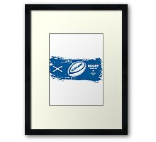 Scotland Rugby World Cup Framed Print