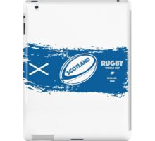 Scotland Rugby World Cup iPad Case/Skin