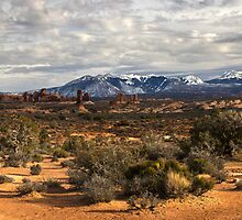 La Sal Mountains by bonsta