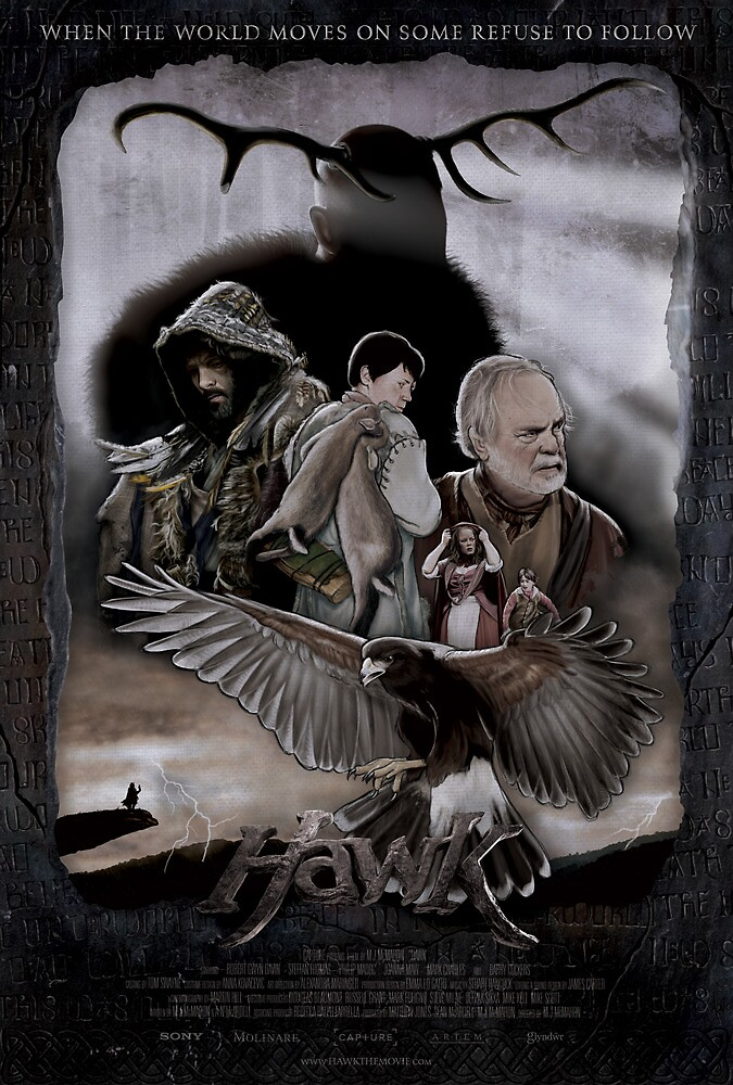HAWK - Illustrated Poster by WeAreCapture