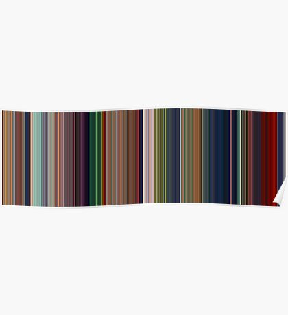 Moviebarcode: The Lion King (1994) [Simplified Colors] Poster