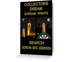 Collectors Dream Greeting Card