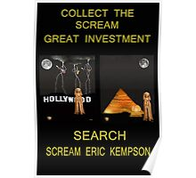Collect The Scream Great Investment Poster