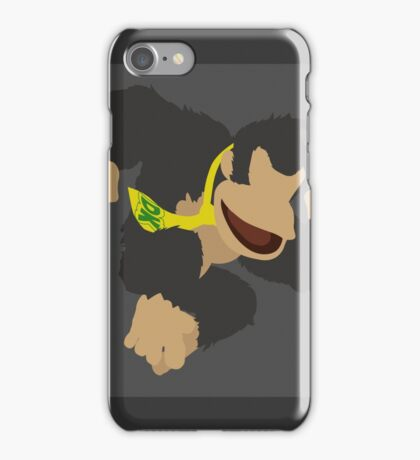 Donkey Kong (Black) - Super Smash Bros. iPhone Case/Skin