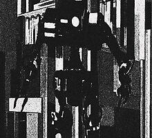 Robot Invader by artstoreroom