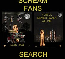 Wanted Scream Fans by Eric Kempson