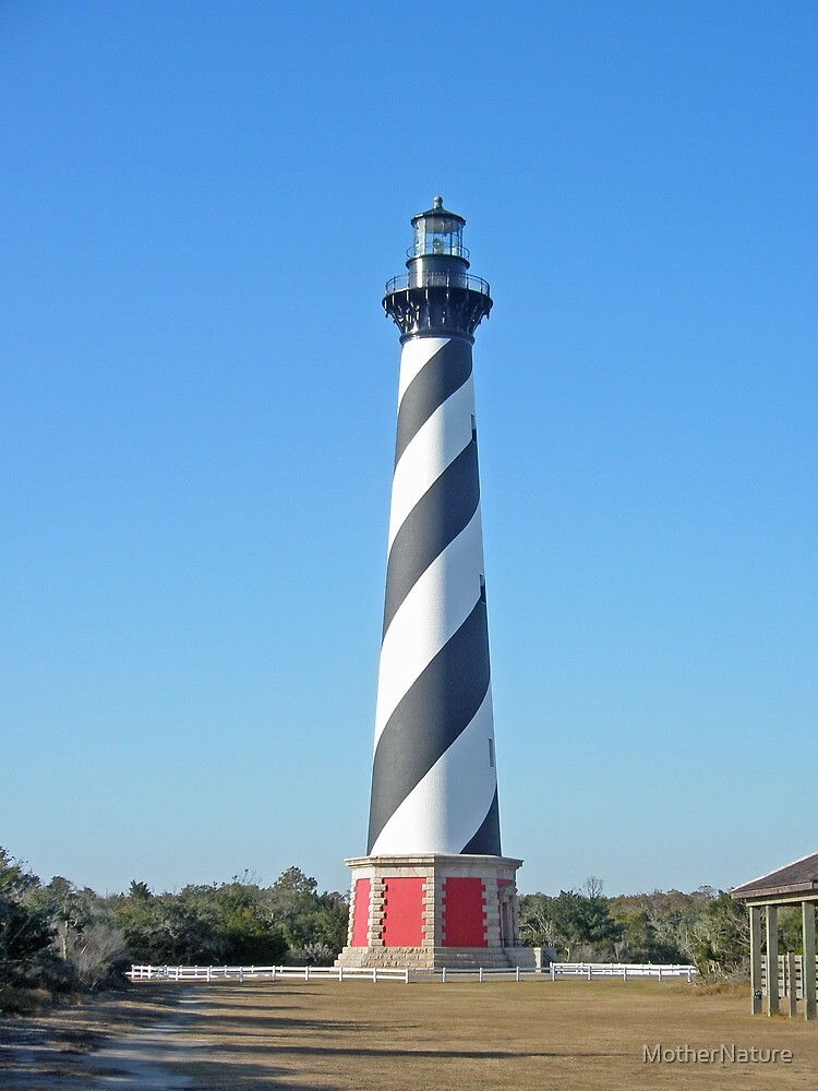 Cape Hatteras Lighthouse - Outer Banks, NC by MotherNature
