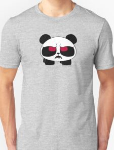 Furious panda with red eyes Unisex T-Shirt