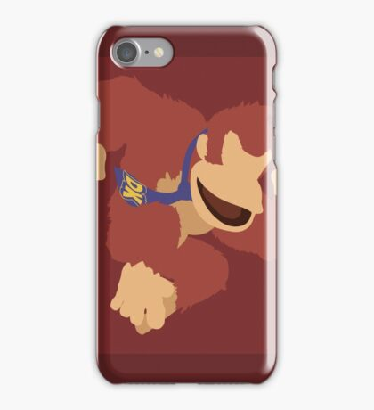 Donkey Kong (Red) - Super Smash Bros. iPhone Case/Skin